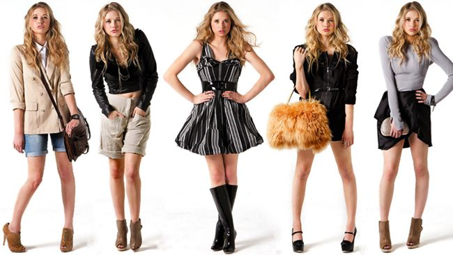 Letní outfity
