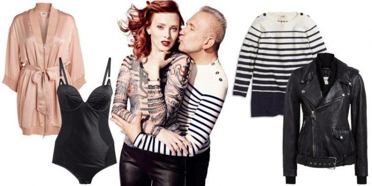 Outfity kolekce Gaultiera pro Lindex