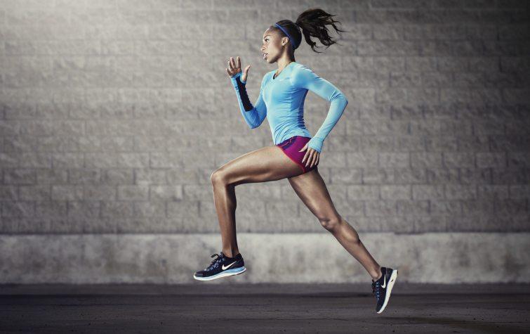 Boty od značky Nike na běhání