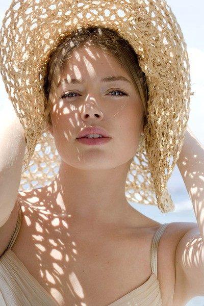 Letní slaměný klobouk