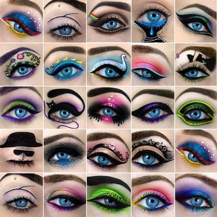 Namalované oči od Tal Peleg