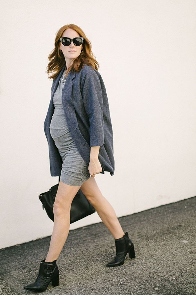 móda pro těhotné boty kabelka