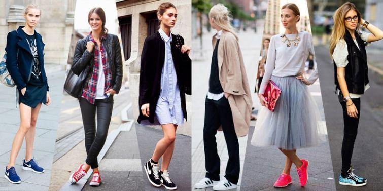 trendy tenisky street style 2014