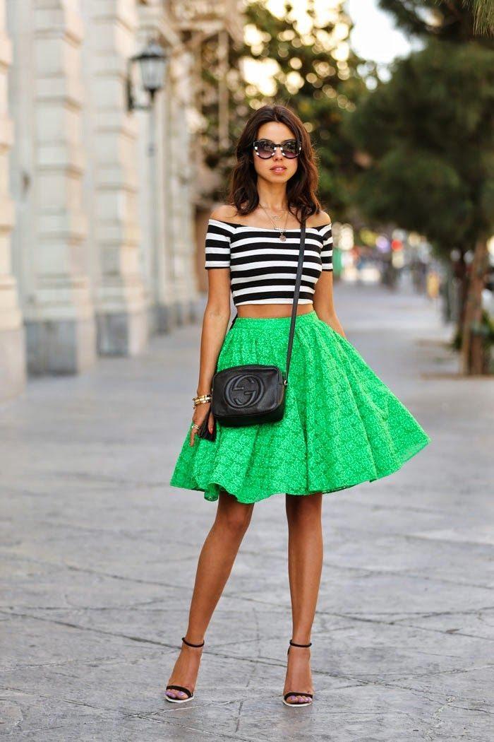 barva roku 2017 sukně