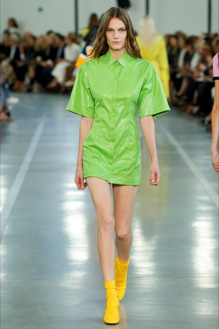 greenery zelená barva sukně