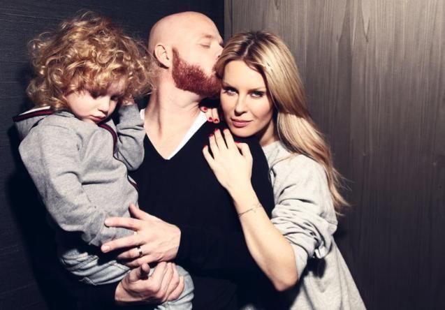 Simona Krainová rodina