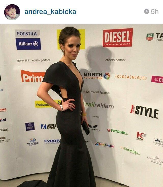 Andrea Kabická Česká Miss