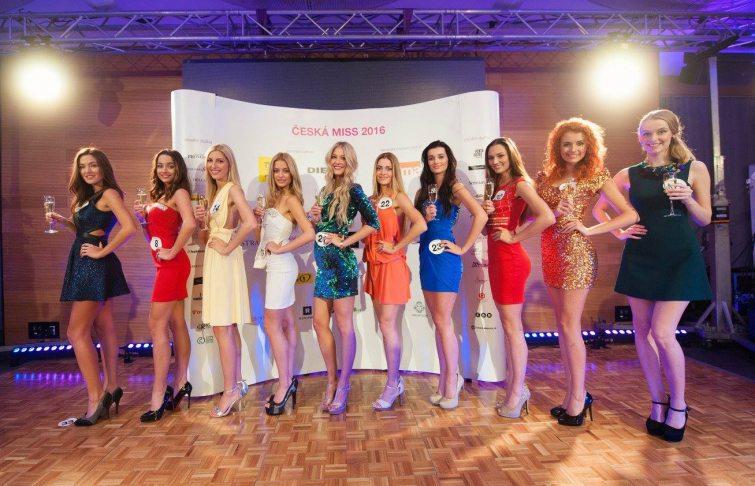 Finalistky České Miss 2016