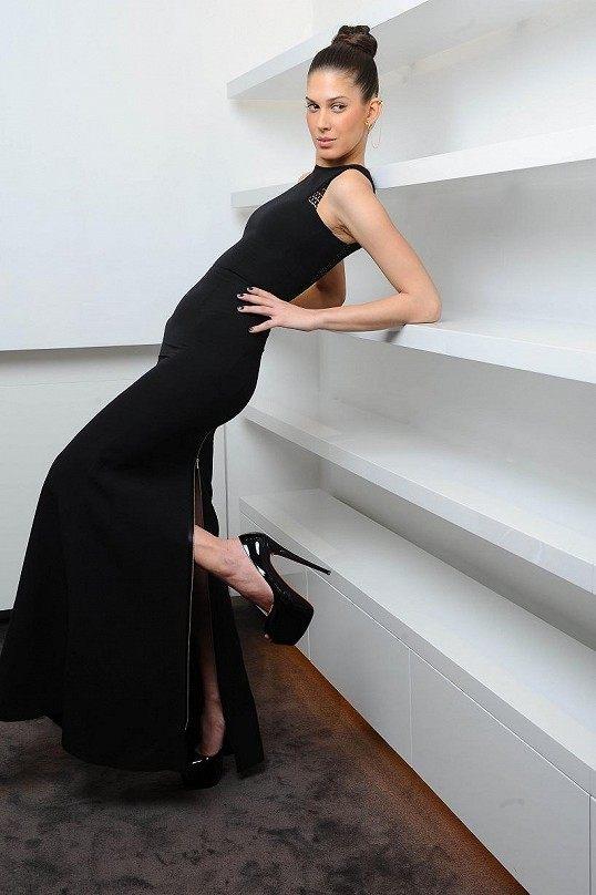 Aneta Vignerová šaty Victoria Beckham