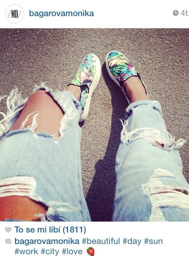 móda na instagramu