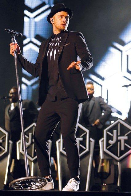 Justin Timberlake tepláky Neil Barret