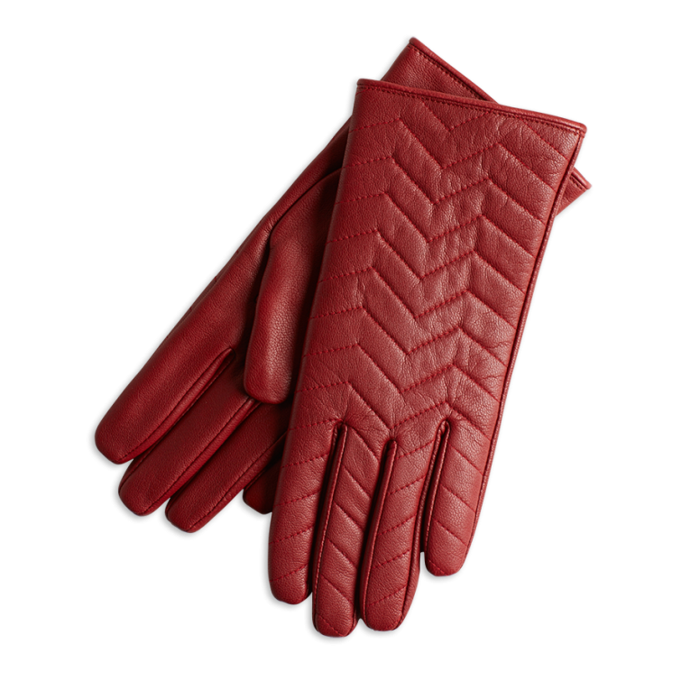 Kožené rukavice Lindex