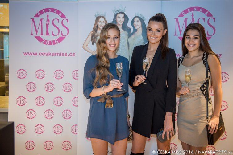 Česká Miss 2016 tisková konference