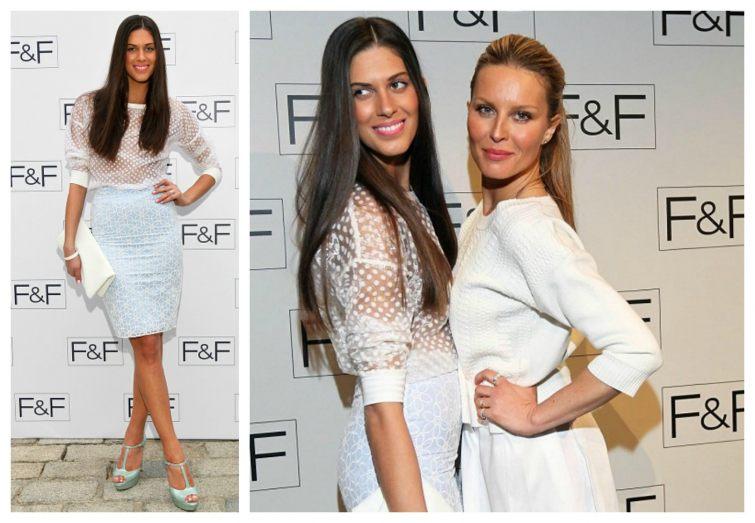 Aneta Vignerová SImona Krainová módní přehlídka F&F Londýn