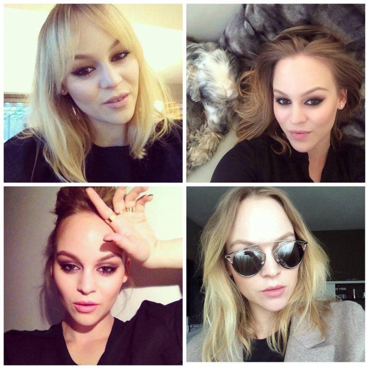 Eliška Matějková selfie