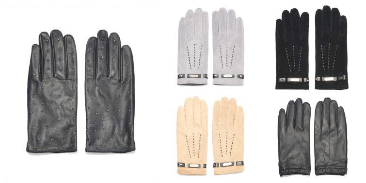 Mohito kožené rukavice