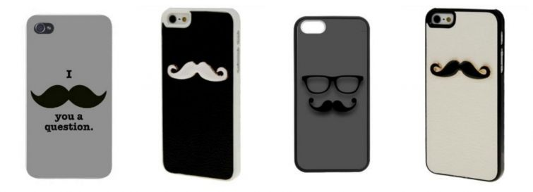 Movember kryty na Iphone