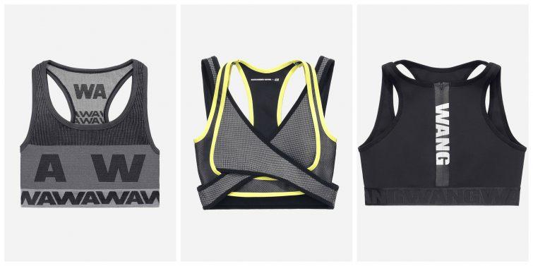 Sportovní podprsenky Alexander Wang pro H&M