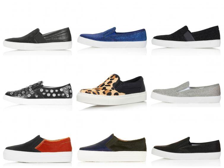 topshop slipon obuv