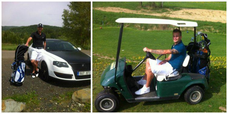 Vít Beneš golf