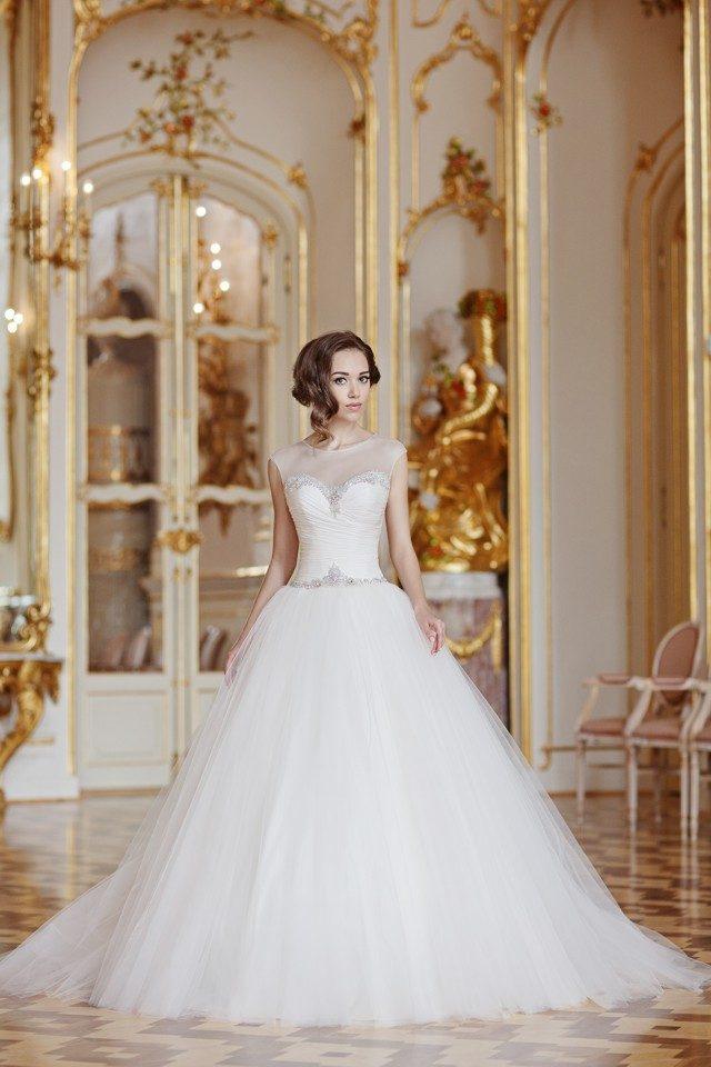 svatební šaty podle typu postavy