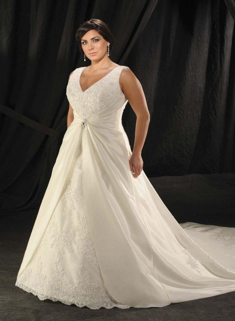 šaty svatební postava jablko