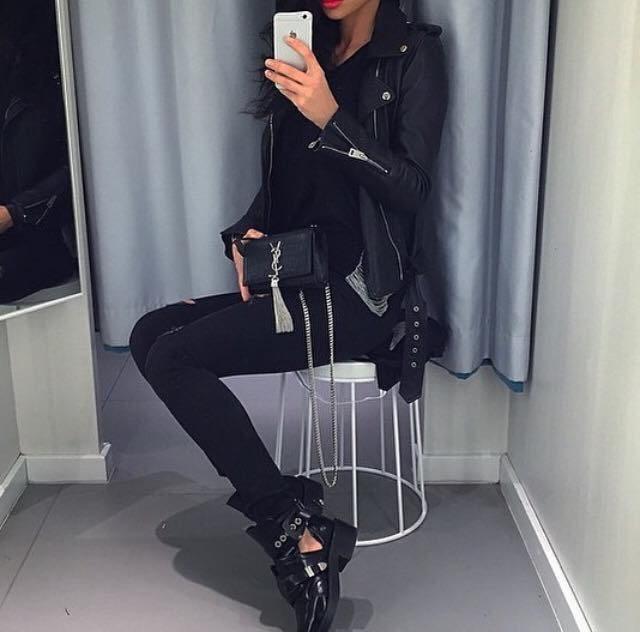 černý outfit