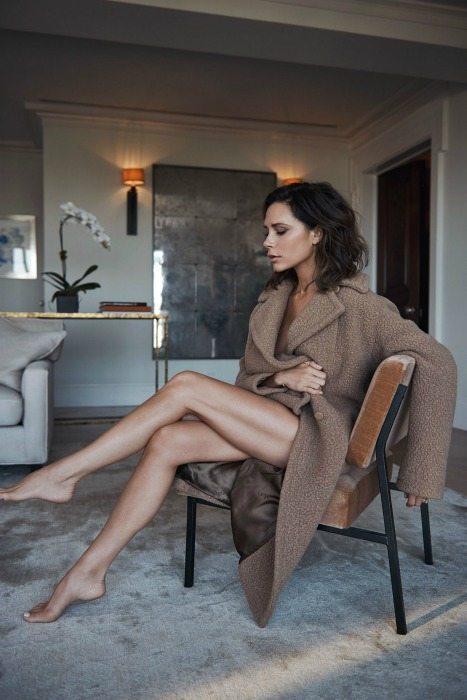 Zavinovací kabáty Victoria Beckham