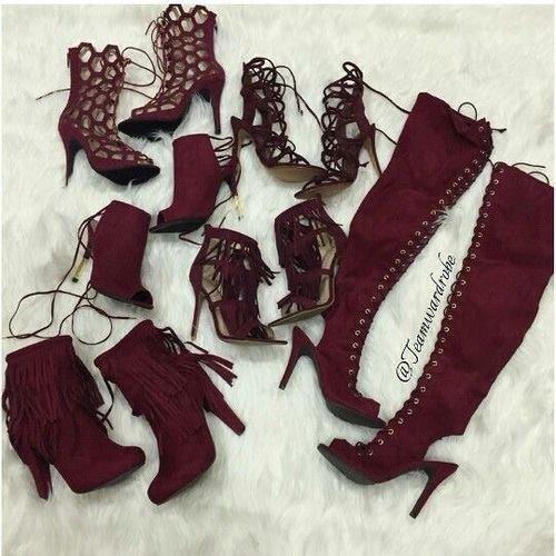 vínové boty trendy