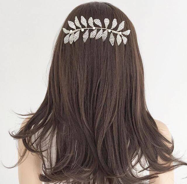 šperky do vlasů svatební spona