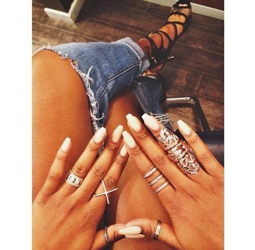 sada prstýnků inspirace na nošení