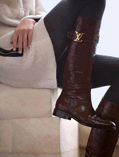 Kozačky Louis Vuitton na zimu