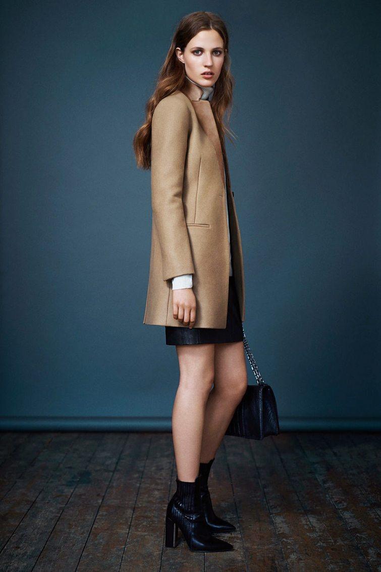 dámský kabát podzim
