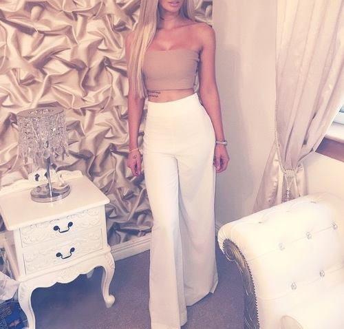 široké kalhoty