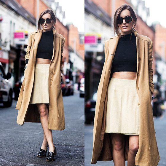 podzimní kabátek se sukní
