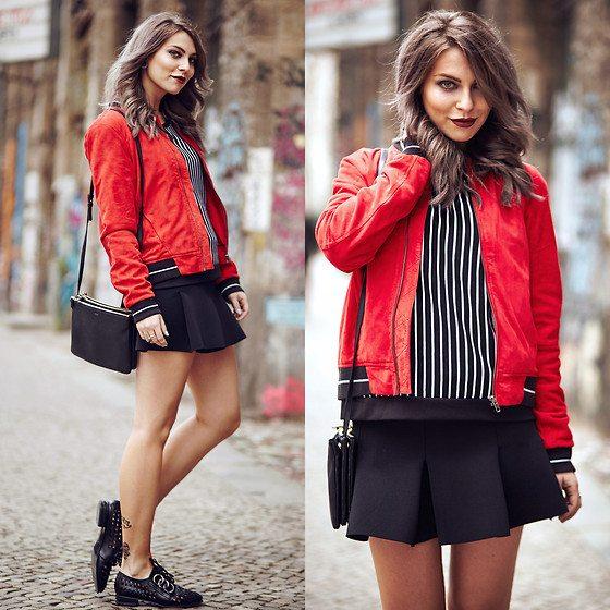 červená bunda
