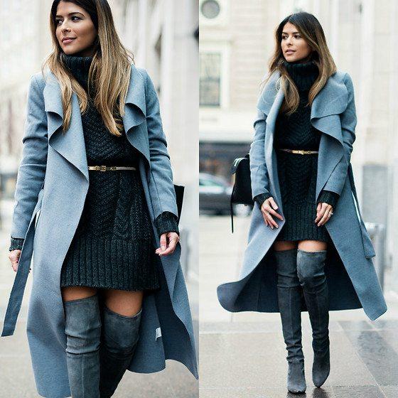 zavinovací kabát