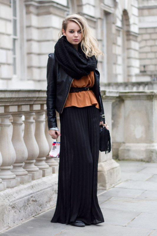sukně i na zimu dlouhá