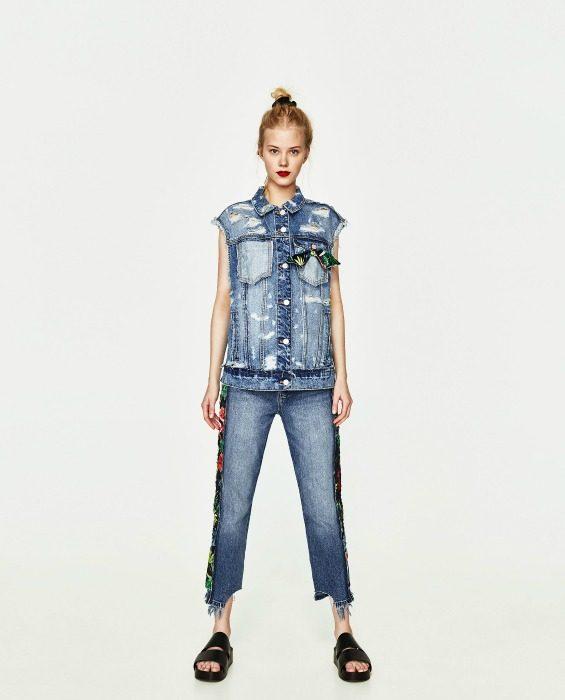 slim džíny dámský outfit