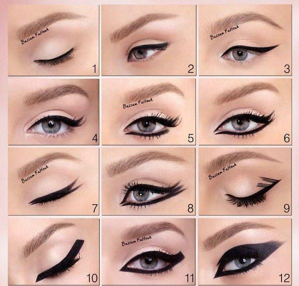 oční linky variace