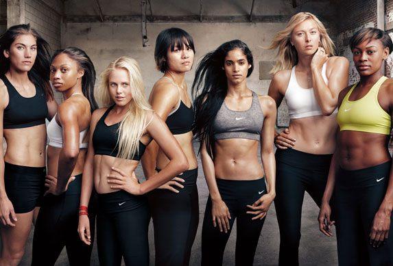 ženy ve sportovním oblečení
