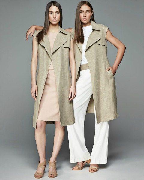 dlouhá vesta elegance