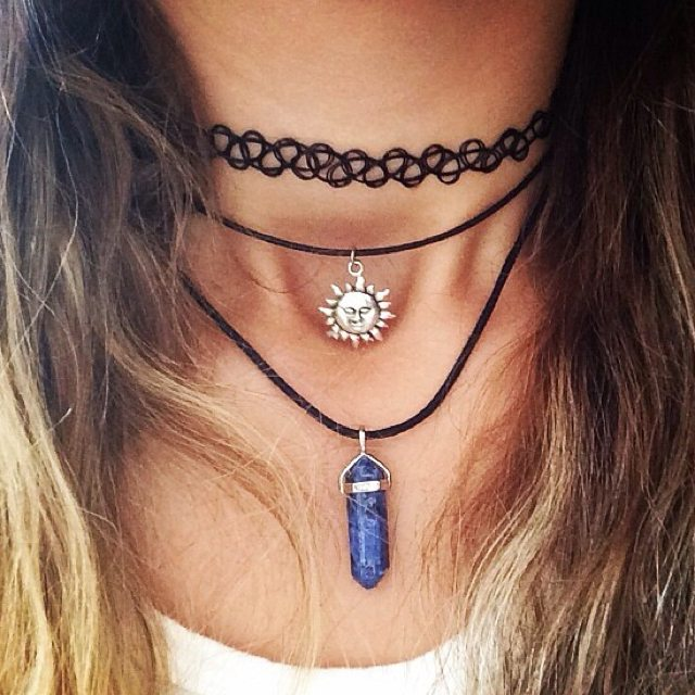 chokers náhrdelníky