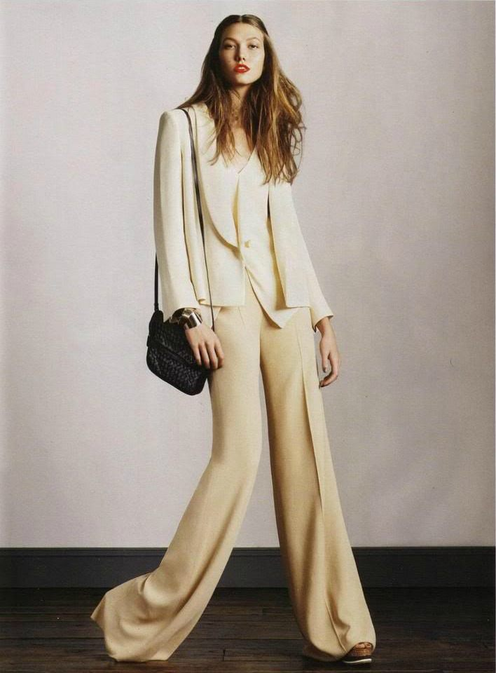 Kostýmové zvonové kalhoty