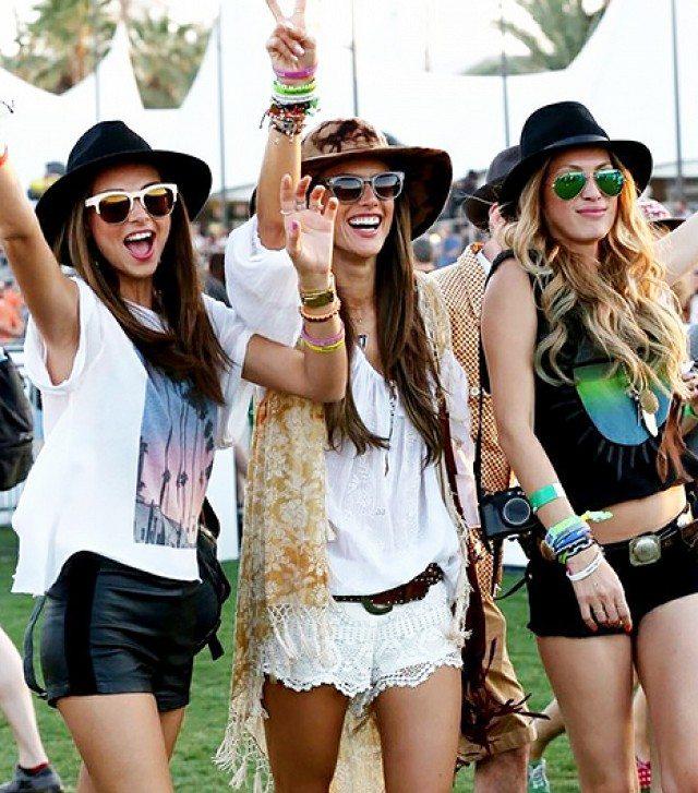 hippie styl klobouk