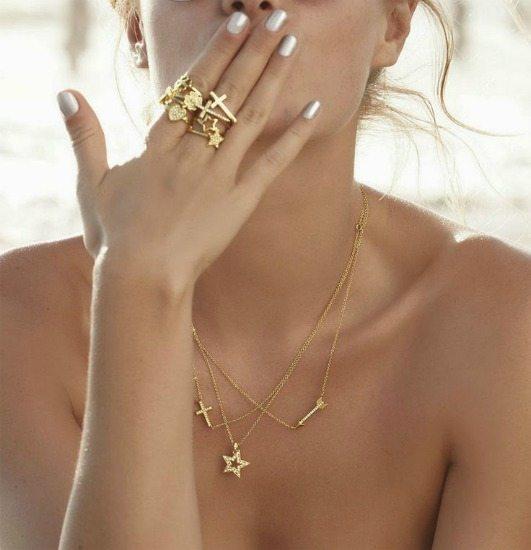 sada prstýnků šperky pro ženy
