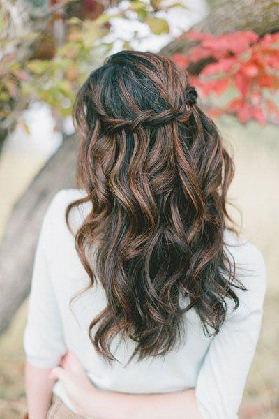vlnité vlasy na svatbu
