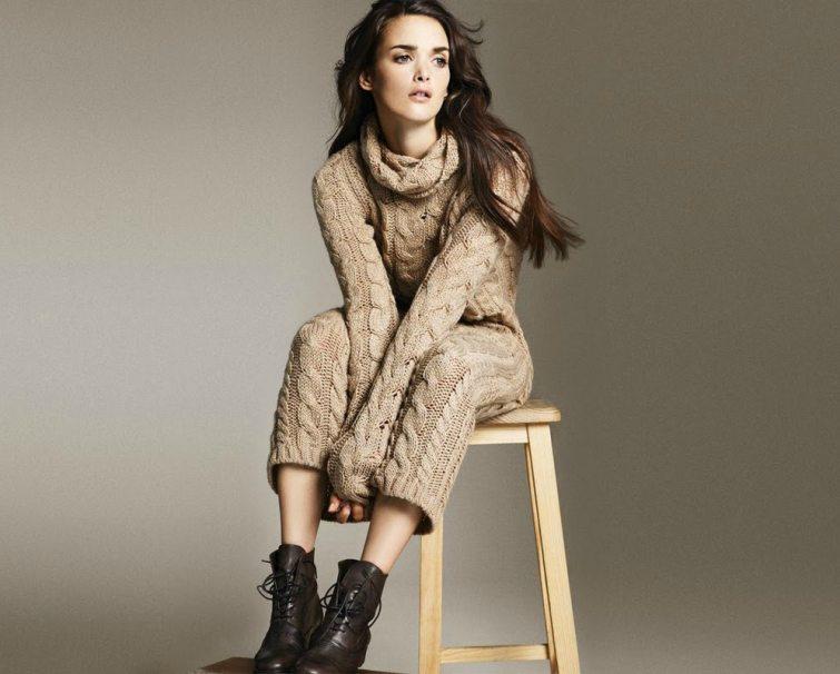 pletený svetr dámský