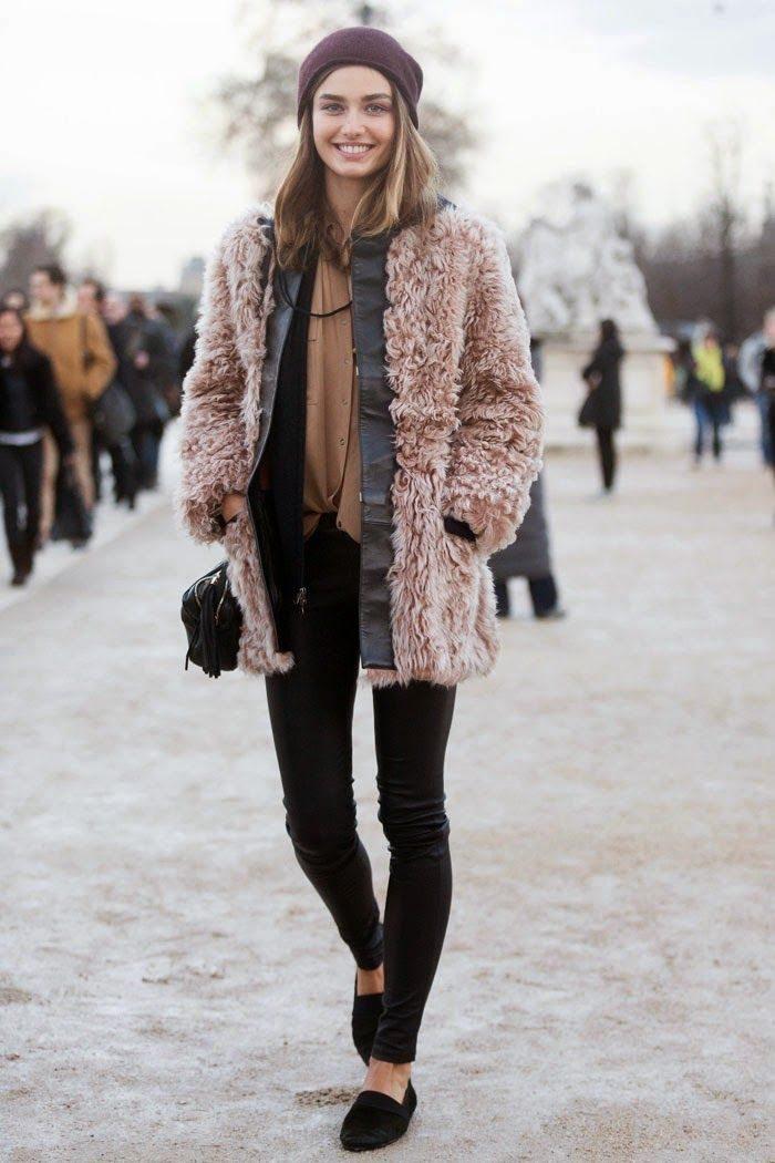 zima vrstvení street style