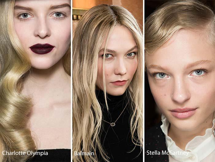 barevné účesy podzim zima 2017 blond